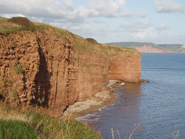 Sandstone Cliffs at Brandy Head