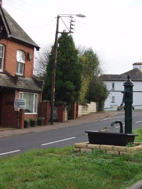 Village pump at Newton Poppleford