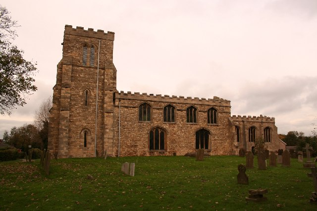 St.Botolph's church, Saxilby, Lincs.