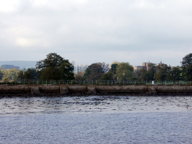 Powderham Castle from the Exe