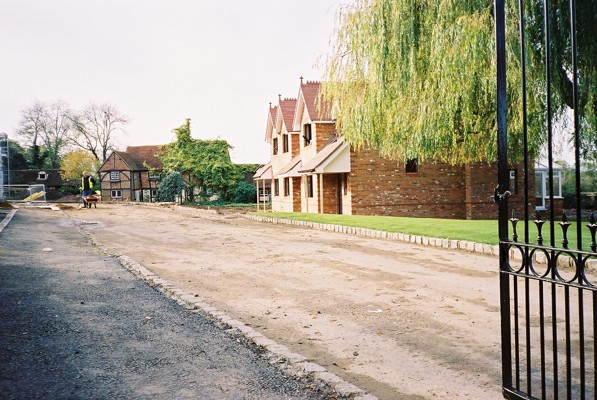 Newell Green Farm - old and new