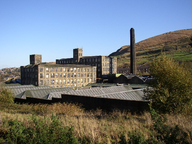 Bank Bottom Mills, Marsden