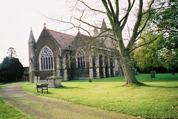 The church of St Michael the Archangel, Warfield