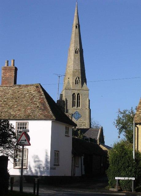 Spaldwick church