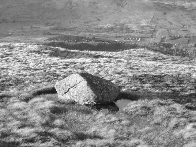 Bog and Boulder, Creag Garbh.