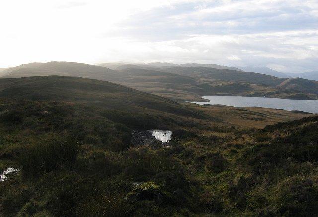 Bogs above Lochan Breaclaich.