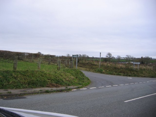 Road Junction to Greysouthern