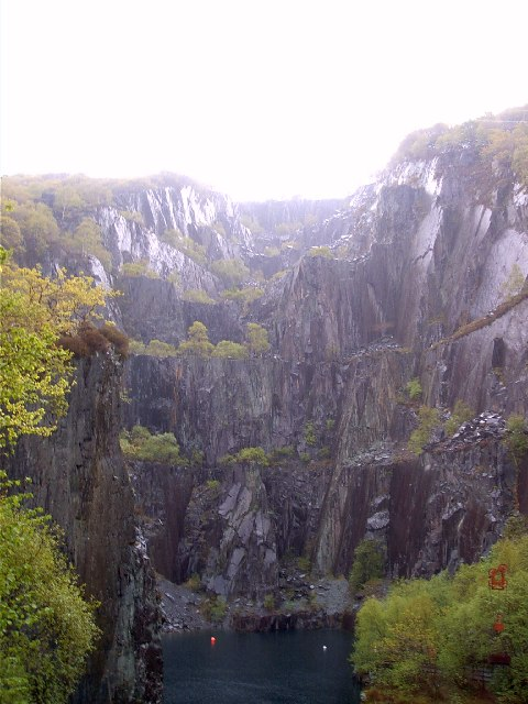 Slate Quarry near Llanberis