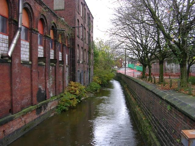 River Irk, Middleton