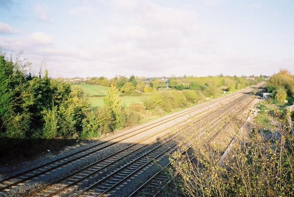 Railway, west of Maidenhead