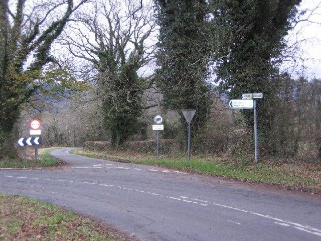 Greentrees road junction
