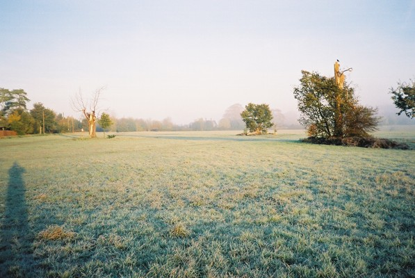 Frosty morning, Pinkneys Green