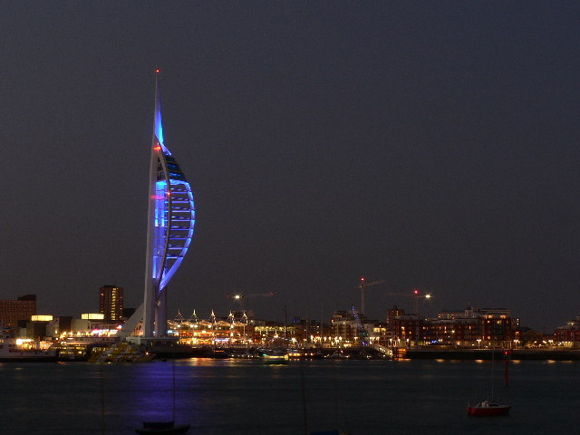 Spinnaker Tower from Gosport