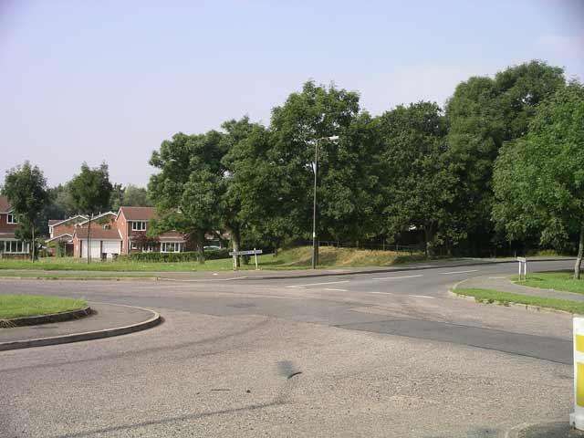 Charingworth Road, Oakwood Drive, Bishops Drive and Springwood Road Junction