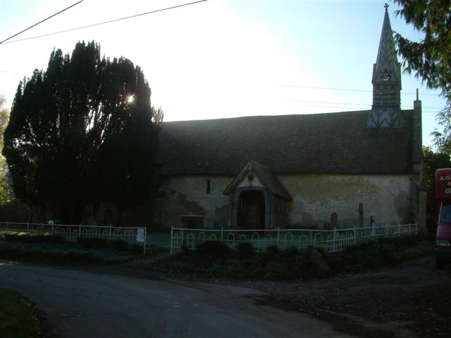 All Saint's Church, Aston Upthorpe