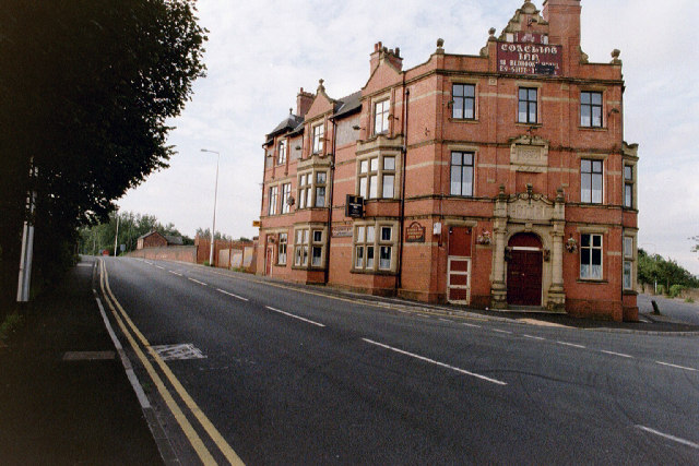 The Coaching Inn, on the Junction of Warrington Road and Cemetery Road