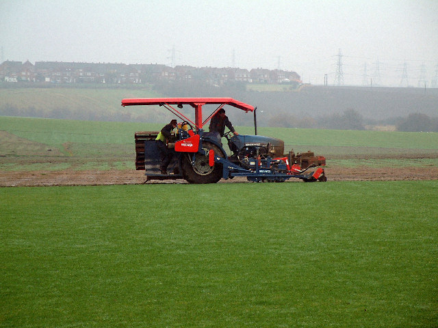 Harvesting Turf, Hetton le Hill