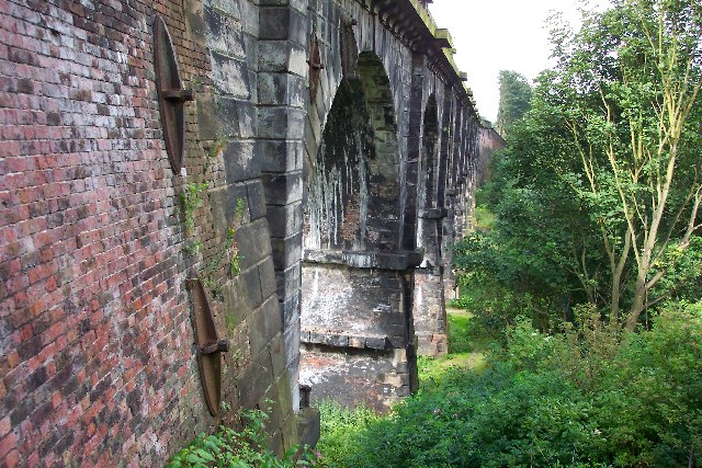 Stephenson's Sankey Viaduct at Earlestown