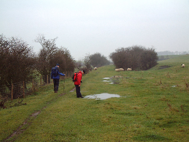 Old railway trackbed, near Low Pittington