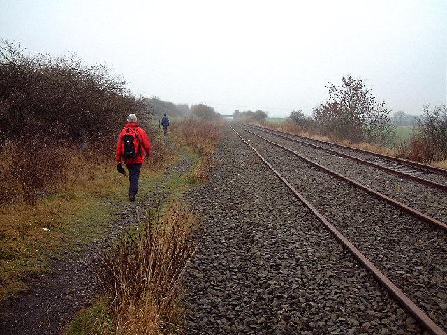 Disused Railway Track, North of Sherburn