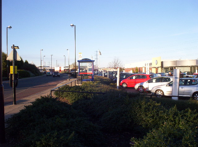 Car Showrooms on Silverlink