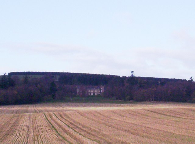 Lundie Castle from a distance