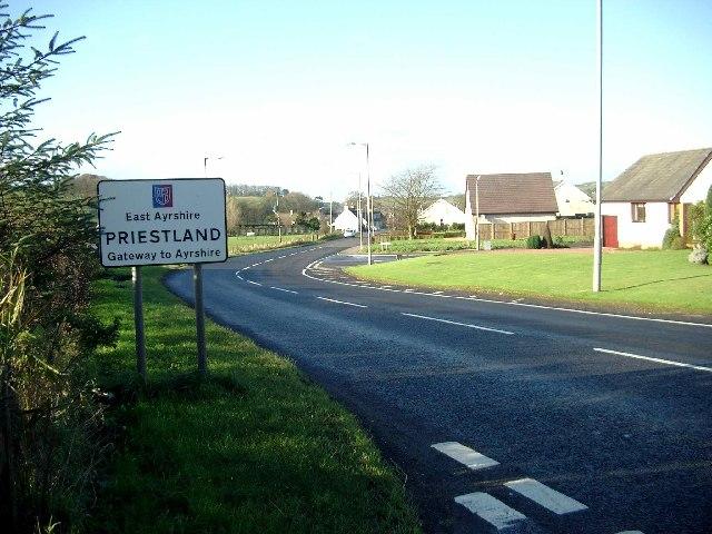 "Priestland - ""Gateway to Ayrshire"""