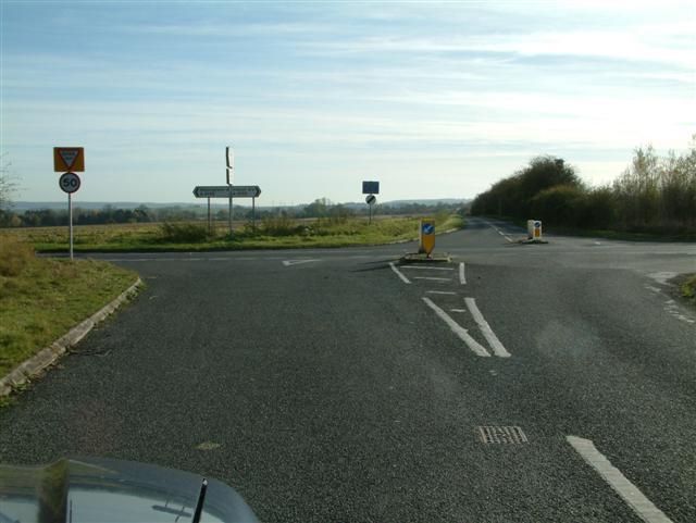 Hadden Hill crossroads