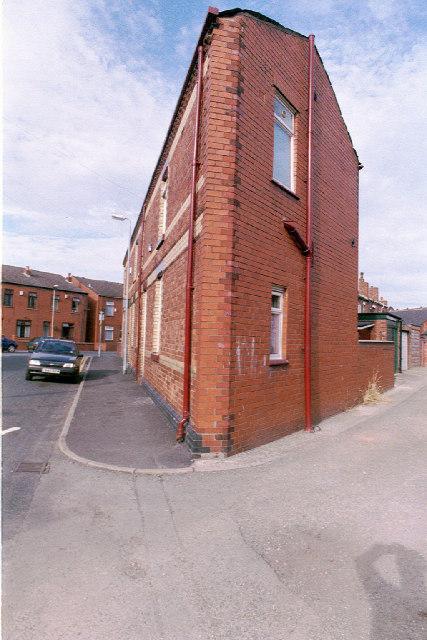 Corner house, Bryn Street, Lower Ince