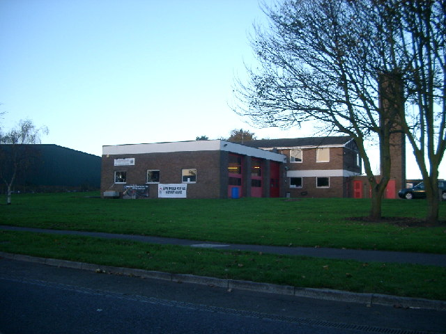 Berwick Fire Station, early morning