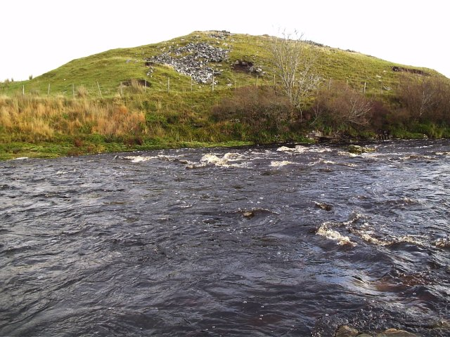 A Broch at Tirryside near Loch Shin