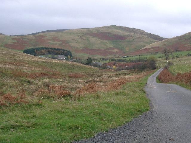down the Pennine Way to Burnhead Farm