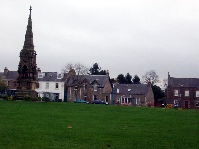 Denholm green and memorial