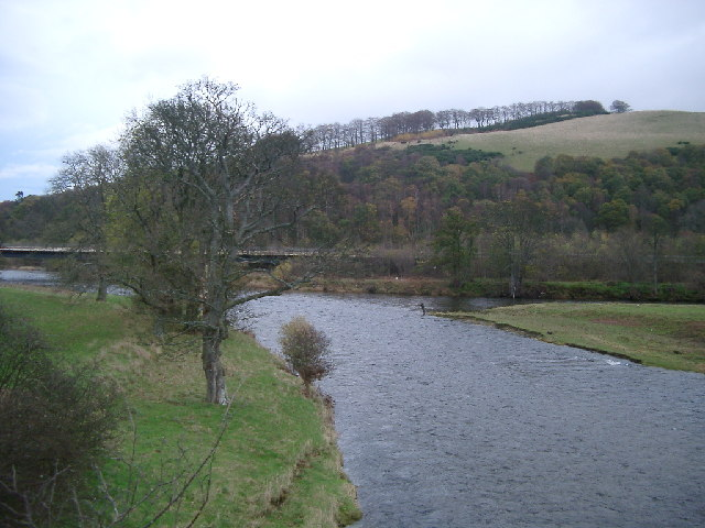 Confluence of Tweed and Ettrick