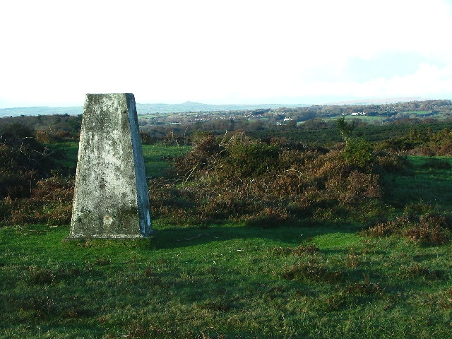 Roborough Down Trig Pillar