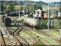 SX5256 : EWS Depot, Marsh Mills Sidings by Gwyn Jones