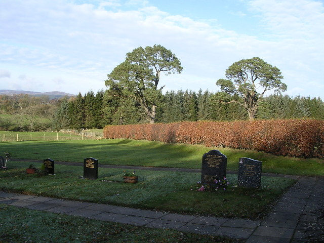 Killearn Cemetery and The Firs