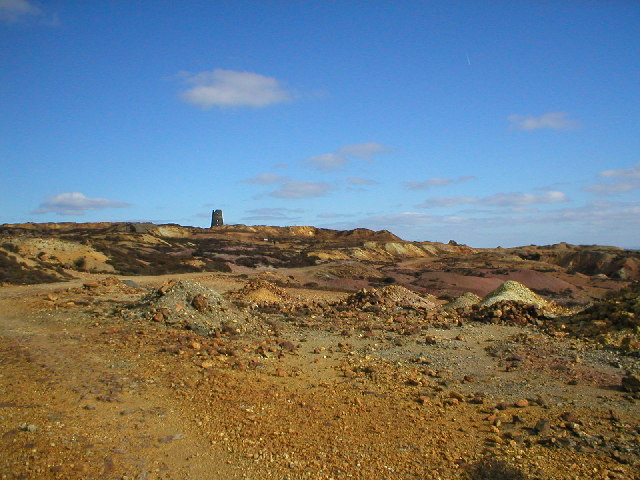 Parys Mountain (Disused Copper Mines)