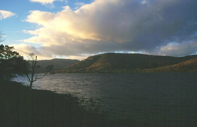 Evening on Loch Earn.