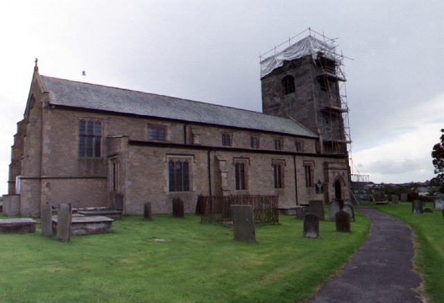 St. Michael's Church, Cockerham, North side