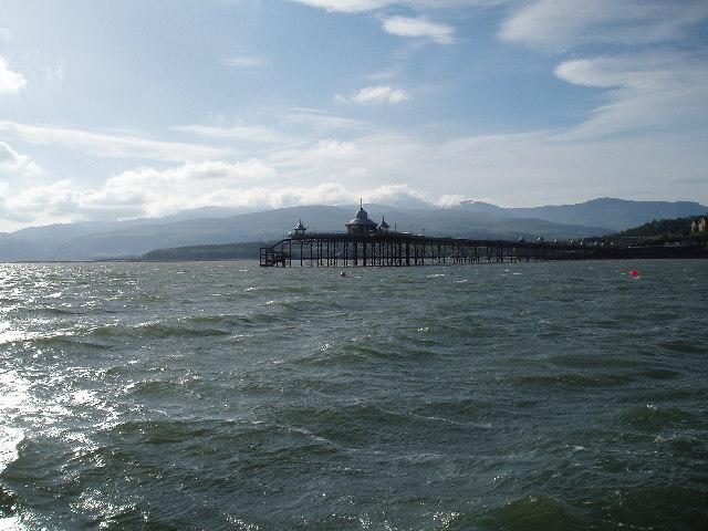Bangor Pier Menai Straits