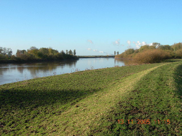 Asselby Island and confluence of Rivers Aire and Ouse