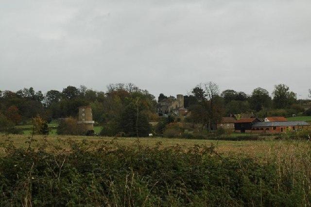 View overlooking looking Little Cressingham