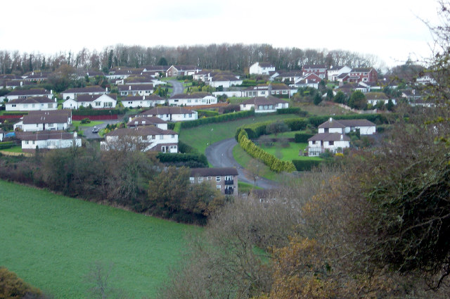 Housing development, Higher Brixham