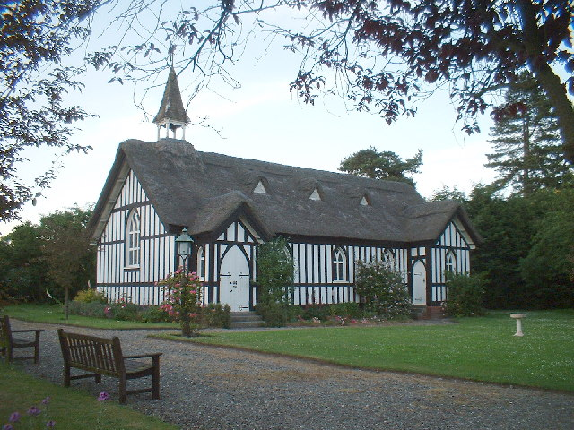 Church in Little Stretton,Shropshire