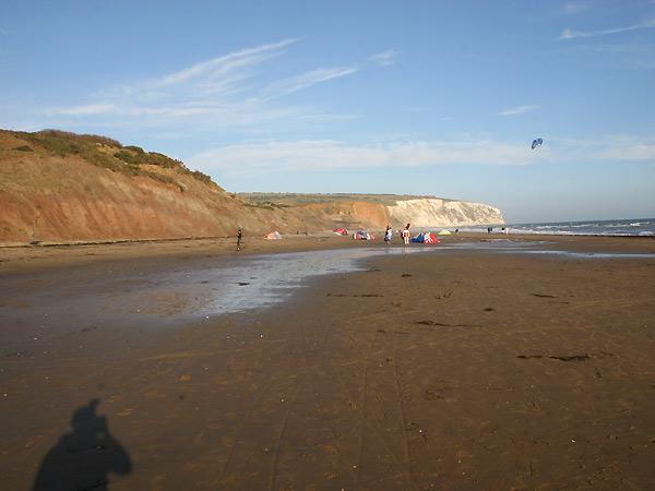 Yaverland beach, Isle of Wight