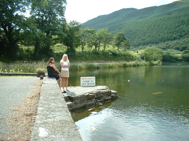 Quayside on Tal-Y-Llyn Lake