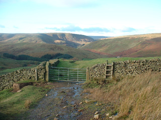 Stile and Gate Mellor Knoll