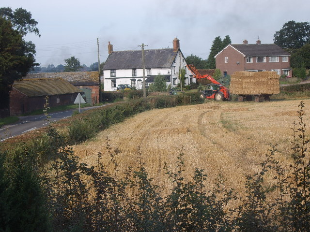 White Building is Yew Tree Farm