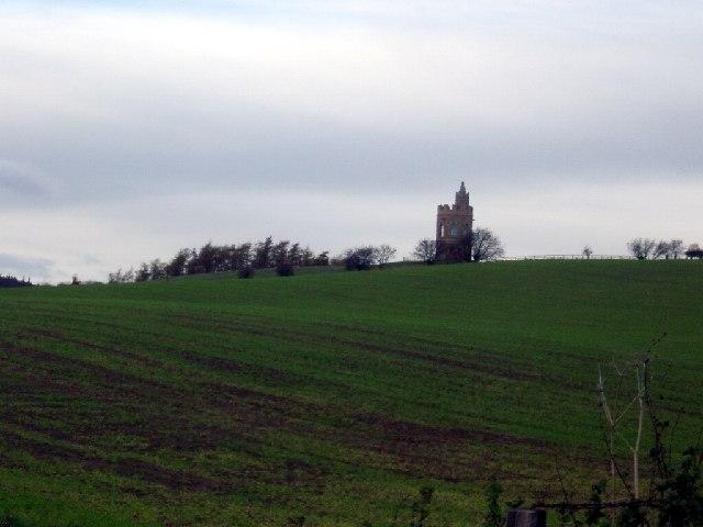 Tower near the Hurl Stone, Lilburn